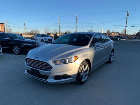 2016 Ford Fusion for sale at Crooza in Dearborn MI