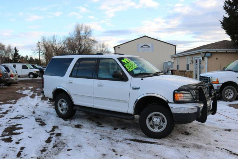 1999 Ford Expedition for sale at Northern Colorado auto sales Inc in Fort Collins CO