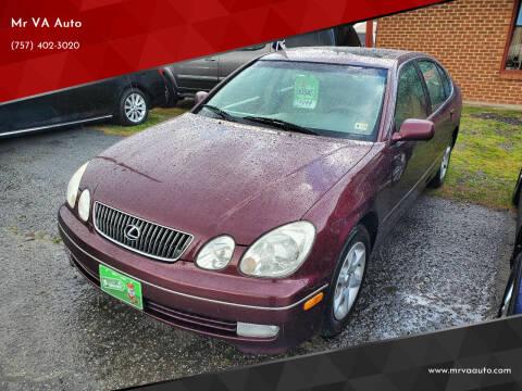 2001 Lexus GS 300 for sale at Mr VA Auto in Chesapeake VA