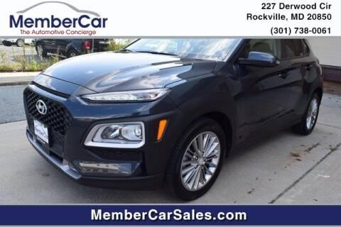 2018 Hyundai Kona for sale at MemberCar in Rockville MD