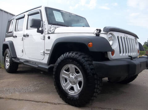 2013 Jeep Wrangler Unlimited for sale at Broken Arrow Motor Co in Broken Arrow OK