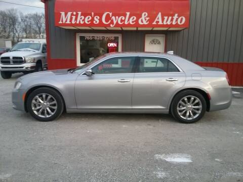 2016 Chrysler 300 for sale at MIKE'S CYCLE & AUTO in Connersville IN