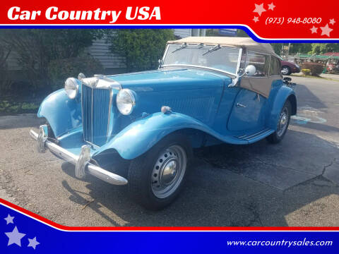 1953 MG TD for sale at Car Country USA in Augusta NJ