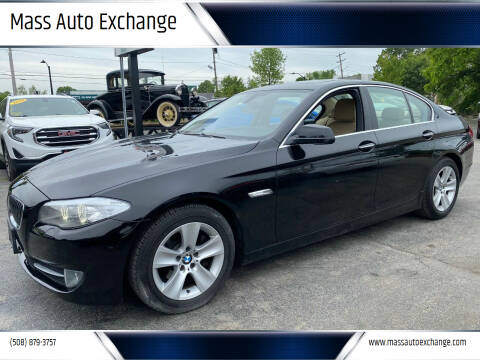 2013 BMW 5 Series for sale at Mass Auto Exchange in Framingham MA