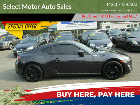 2013 Scion FR-S for sale at Select Motor Auto Sales in Lynnwood WA