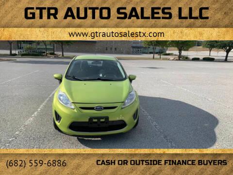 2012 Ford Fiesta for sale at GTR Auto Sales LLC in Haltom City TX