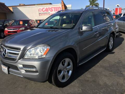 2012 Mercedes-Benz GL-Class for sale at CARSTER in Huntington Beach CA