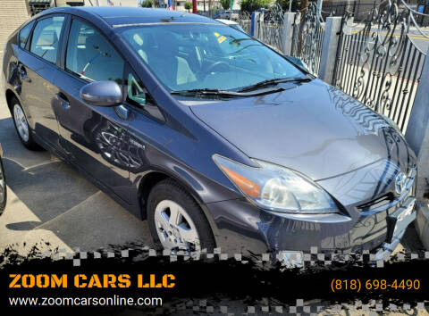 2013 Toyota Prius for sale at ZOOM CARS LLC in Sylmar CA