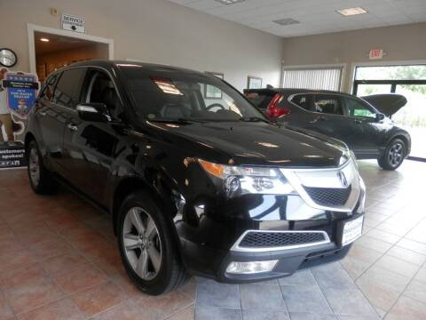 2013 Acura MDX for sale at ABSOLUTE AUTO CENTER in Berlin CT