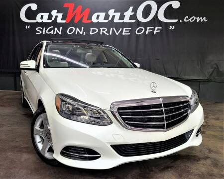 2014 Mercedes-Benz E-Class for sale at CarMart OC in Costa Mesa, Orange County CA