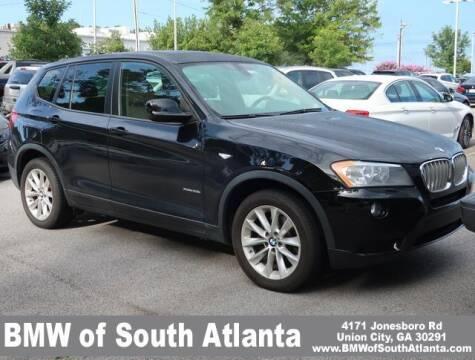 2014 BMW X3 for sale at Carol Benner @ BMW of South Atlanta in Union City GA