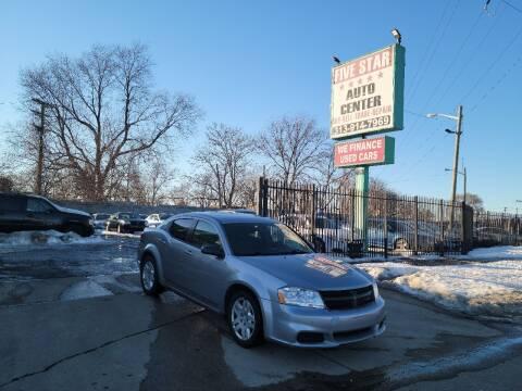 2014 Dodge Avenger for sale at Five Star Auto Center in Detroit MI