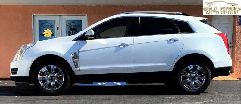 2013 Cadillac SRX for sale at Gold Motors Auto Group Inc in Tampa FL