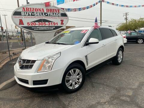 2012 Cadillac SRX for sale at Arizona Drive LLC in Tucson AZ