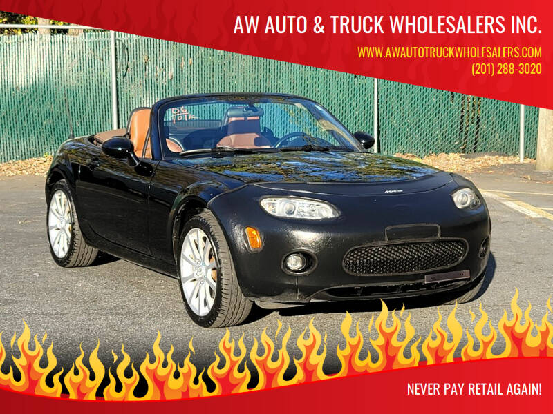 2006 Mazda MX-5 Miata for sale at AW Auto & Truck Wholesalers  Inc. in Hasbrouck Heights NJ