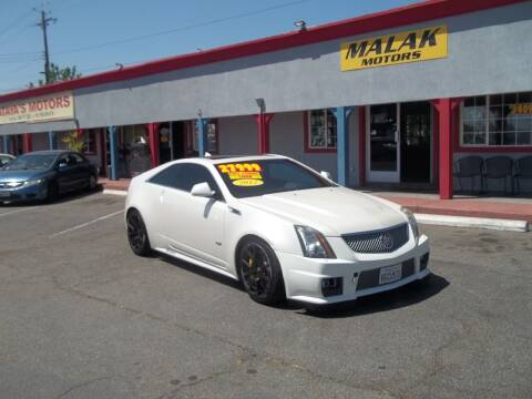 2012 Cadillac CTS-V for sale at Atayas Motors INC #1 in Sacramento CA