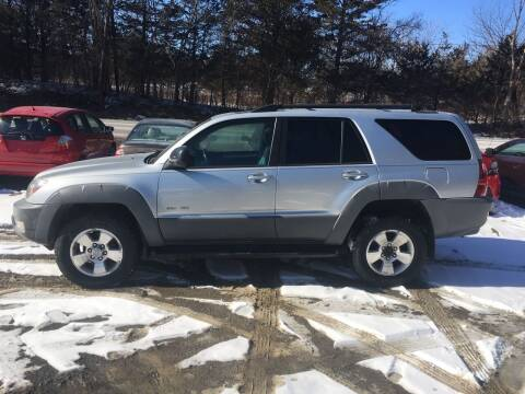 2003 Toyota 4Runner for sale at B & B GARAGE LLC in Catskill NY