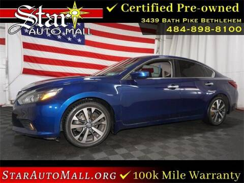 2017 Nissan Altima for sale at STAR AUTO MALL 512 in Bethlehem PA