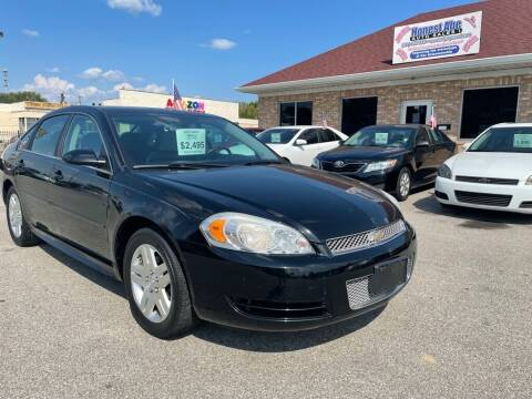 2012 Chevrolet Impala for sale at Honest Abe Auto Sales 1 in Indianapolis IN