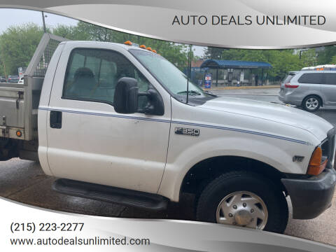 1999 Ford F-350 Super Duty for sale at AUTO DEALS UNLIMITED in Philadelphia PA