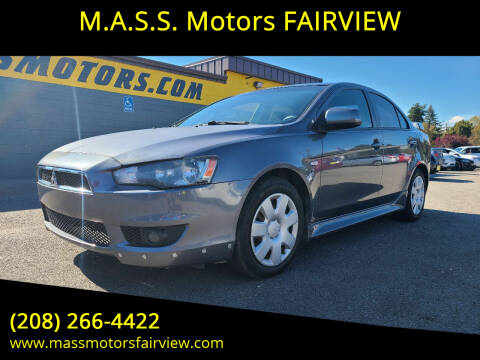 2011 Mitsubishi Lancer for sale at M.A.S.S. Motors - Fairview in Boise ID