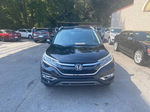 2015 Honda CR-V for sale at J Franklin Auto Sales in Macon GA