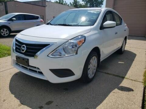 2018 Nissan Versa for sale at Marx Auto Sales in Livonia MI