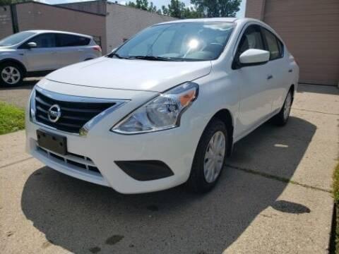 2018 Nissan Versa for sale at Marx Auto Sales in Livonia MI