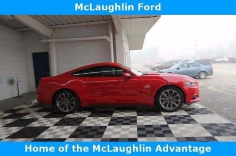 2017 Ford Mustang for sale at McLaughlin Ford in Sumter SC