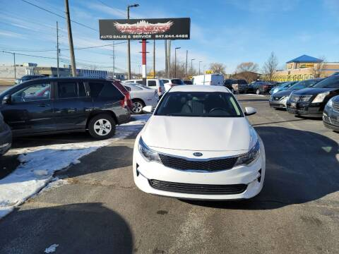 2016 Kia Optima for sale at Washington Auto Group in Waukegan IL