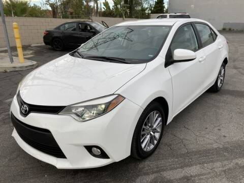 2014 Toyota Corolla for sale at Hunter's Auto Inc in North Hollywood CA