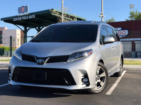 2018 Toyota Sienna for sale at AKOI Motors in Tempe AZ