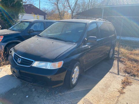 2003 Honda Odyssey for sale at Hall's Motor Co. LLC in Wichita KS