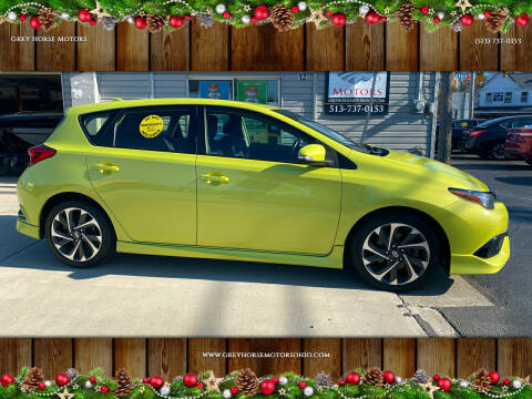 2016 Scion iM for sale at Grey Horse Motors in Hamilton OH