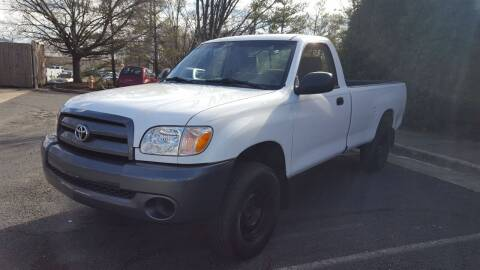2006 Toyota Tundra for sale at Economy Auto Sales in Dumfries VA