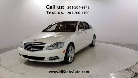 2013 Mercedes-Benz S-Class for sale at NJ State Auto Used Cars in Jersey City NJ