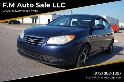 2010 Hyundai Elantra for sale at F.M Auto Sale LLC in Dallas TX