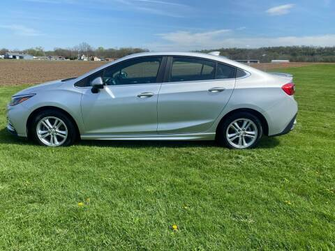 2017 Chevrolet Cruze for sale at Wendell Greene Motors Inc in Hamilton OH