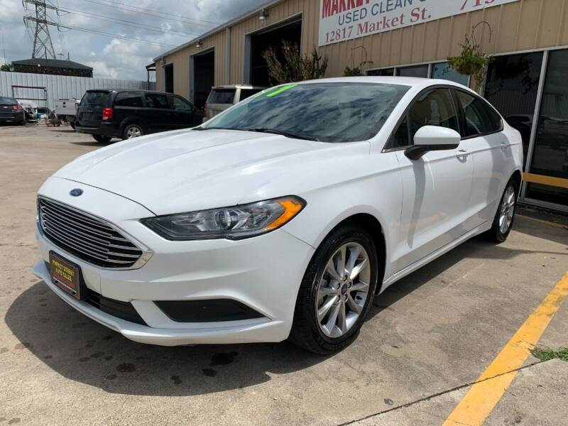 2017 Ford Fusion for sale at Market Street Auto Sales INC in Houston TX