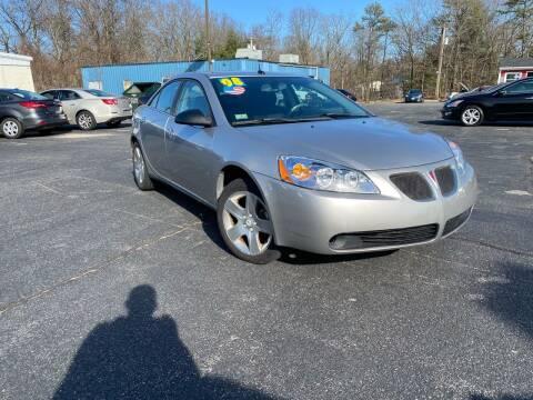 2008 Pontiac G6 for sale at M & J Auto Sales in Attleboro MA
