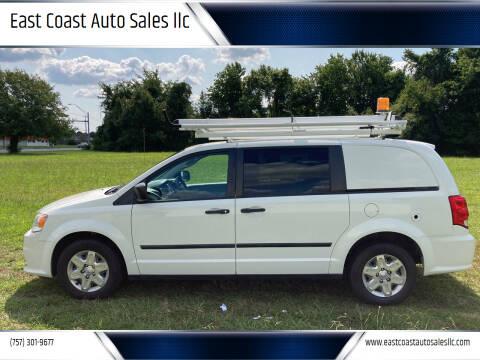 2013 RAM C/V for sale at East Coast Auto Sales llc in Virginia Beach VA