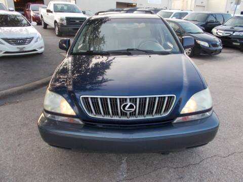 2001 Lexus RX 300 for sale at ACH AutoHaus in Dallas TX