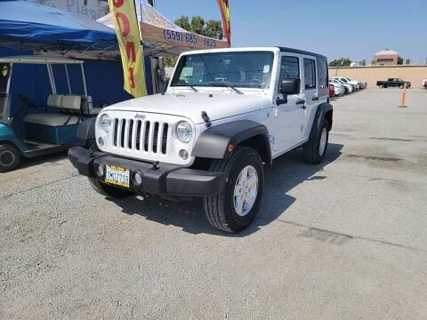 2015 Jeep Wrangler Unlimited for sale at La Playita Auto Sales Tulare in Tulare CA