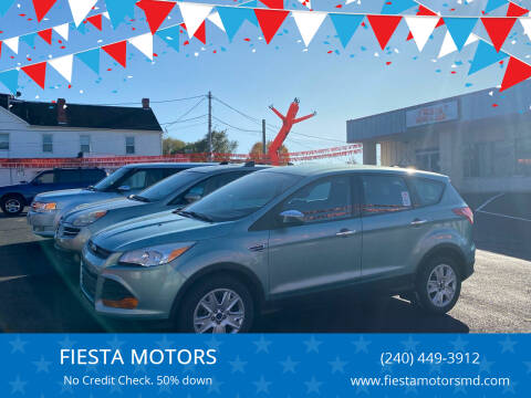 2013 Ford Escape for sale at FIESTA MOTORS in Hagerstown MD