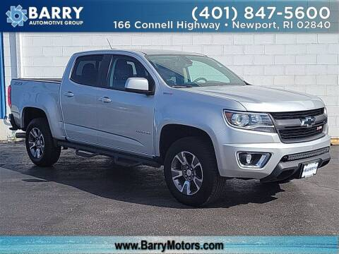 2017 Chevrolet Colorado for sale at BARRYS Auto Group Inc in Newport RI