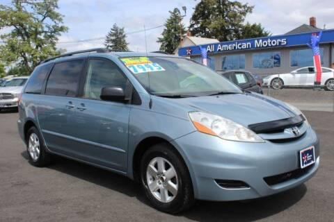 2008 Toyota Sienna for sale at All American Motors in Tacoma WA