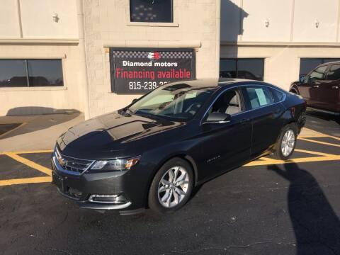 2018 Chevrolet Impala for sale at Diamond Motors in Pecatonica IL