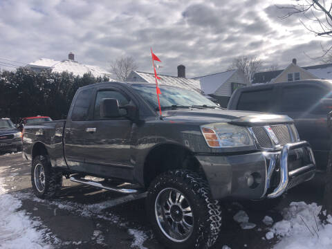 2006 Nissan Titan for sale at Connecticut Auto Wholesalers in Torrington CT
