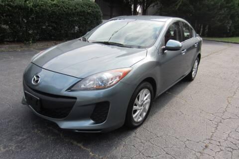 2013 Mazda MAZDA3 for sale at Key Auto Center in Marietta GA