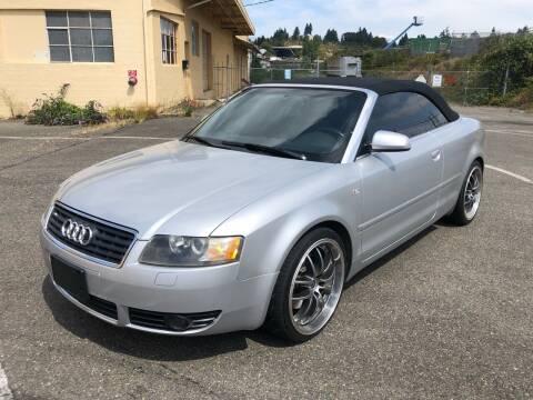 2003 Audi A4 for sale at South Tacoma Motors Inc in Tacoma WA